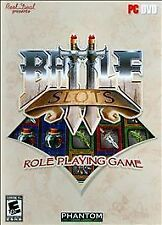 BATTLE SLOTS ROLE PLAYING PC GAME WINDOWS XP,VISTA,WIN 7,NEW Sealed