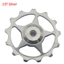 13T 2pcs Bicyel Derailleurs Alloy Jockey Wheels Pulley Bearing For Shimano SRAM