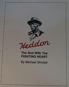 Heddon-Rod-With-Fighting-Heart-SC-1st-Ed-Bamboo-Fly-Book-FREE-Bonus-H-I-Catalog
