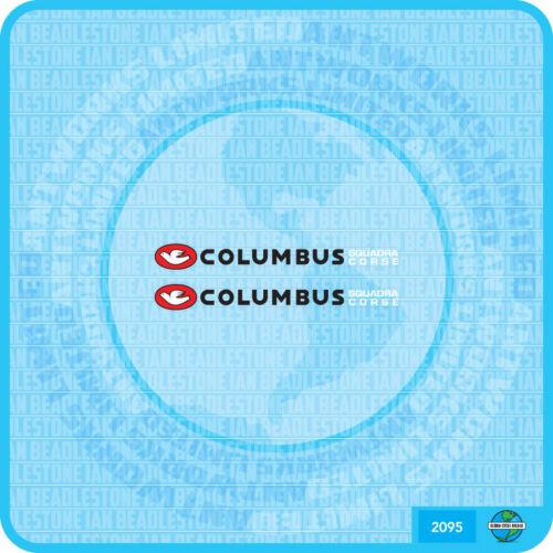 Columbus SQUADRA COURSE Bicycle Decal Transfer Sticker Set 95
