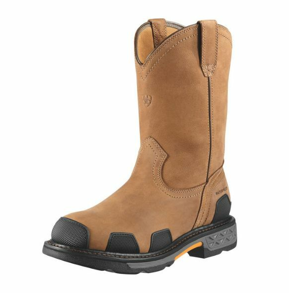 Ariat Overdrive H2O Waterproof Composite Toe Pull On Work Boot 10010901
