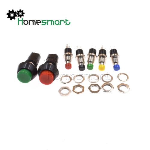 Metal Push Button Schalter Doorbell Horn Lockless PBS-110//PBS-11B 2Pin