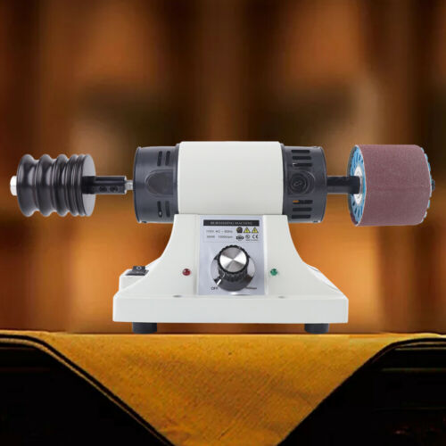 Adjustable 8000RPM Leather Edge Grinding Polishing Burnishing Machine Belt 110V