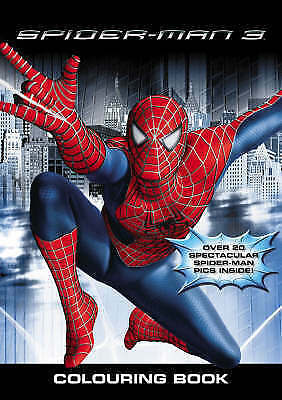 Spiderman 3 the Movie Colouring Book, , Very Good Book