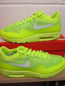 Details about Nike Air Max 1 Ultra Flyknit Mens Running Trainers 843384 701 Sneakers Shoes