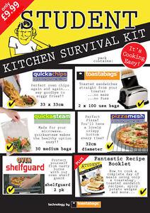 Pack Cuisine Etudiant Survie Que Faire La Cuisine Facile Avec Ces