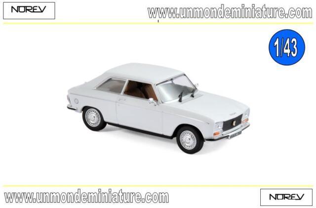 Promo Peugeot 304 Coupé S de 1974 White NOREV - NO 473413 - Echelle 1/43