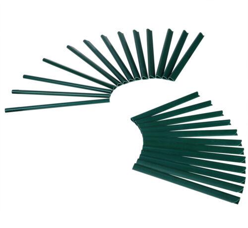35 M Pare-vue Bandes PVC Doppelstab nattes VENT BALCON CLÔTURE Film Vert