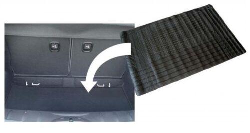 Black Heavy Duty Car Rubber Boot Mat Liner for Vauxhall Viva 1963-79