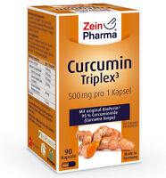 Curcumin-triplex³ 500mg - 90 Kapseln Von Zeinpharma® - Vegan