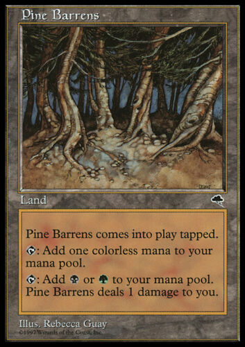 Pine Barrens Tempest Magic Card MTG
