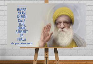 guru nanak dev ji poster wall art print picture quote sikh sikhism