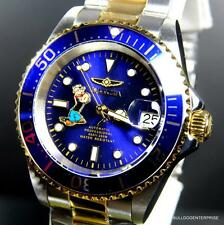 Invicta Pro Diver Popeye Steel Blue 2 Tone Gold Automatic 40mm Watch New + Case