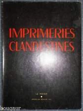 IMPRIMERIES CLANDESTINES Le POINT SOUILLAC N°31 DOISNEAU TZARA LEIRIS QUENEAU...