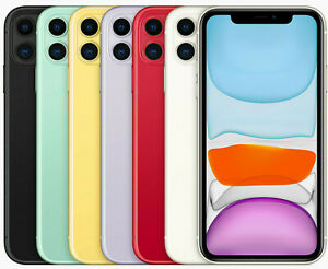 APPLE-IPHONE-11-64-128-256-BLACK-WHITE-RED-YELLOW-GREEN-PURPLE-NUOVO-ORIGINALE