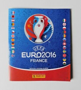UEFA EURO 2016 FRANCE Official Sticker Album (Panini Sticker Album ... 2660005c240d4