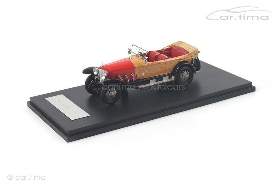 Mercedes-benz 28 95 PS 1922-rojo negro-Neo Scale Models - 1 43 - 46171