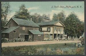 Phillipsport-Mamakating-NY-c-1907-10-Postcard-John-J-OPEL-039-S-STORE