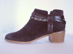 contacto evitar Injusto  Clarks Dress Boots Breccan Shine Women's US Size 6.5 Aubergine Suede 261  21772 | eBay