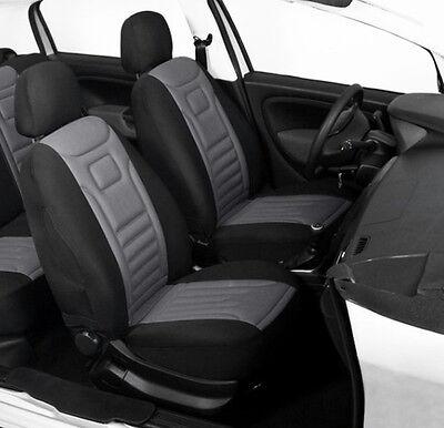 2 BLACK HIGH QUALITY FRONT CAR SEAT COVERS PROTECTORS FOR SUZUKI GRAND VITARA