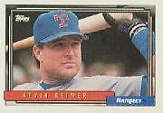 Kevin Reimer Rangers 1992 Topps #737