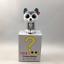 Ty Beanie Boos Mini Boo SLUSH Husky Dog Hand Painted Vinyl Collectible Figurine