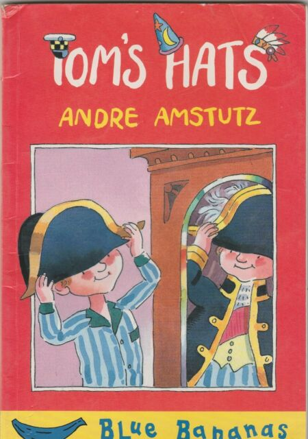 TOM'S HATS (Blue Bananas) Andre Amstutz ~ 1st Ed SC 1996