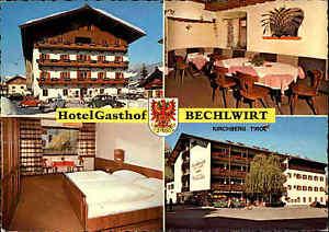 Kirchberg-Osterreich-Tirol-Hotel-Gasthof-Bechlwirt-Hotel-Restaurant-Postkarte