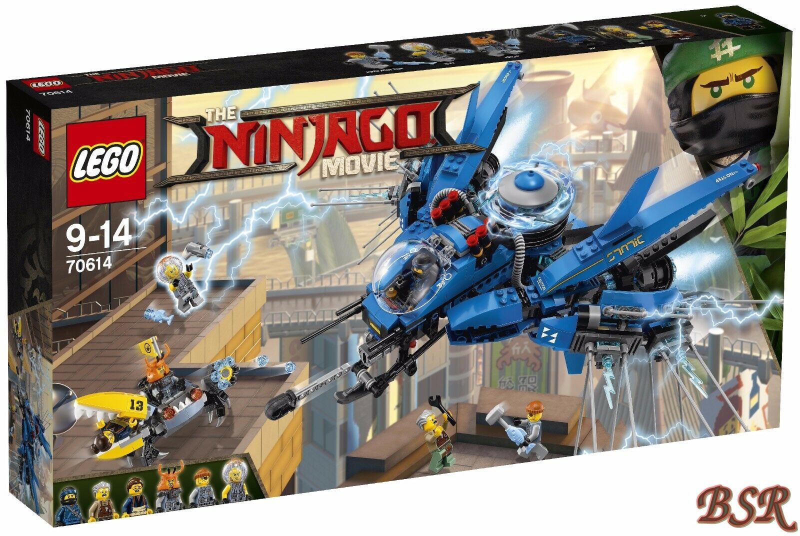 LEGO ® Ninjago Movie: 70614 Jay's Jet-Flash & 0.€ Spedizione & NUOVO & OVP