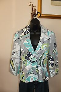 2 Tie Jacket Made Women's 4 Coat Front Usa Raz S 5203 Sisters 3s931 3 Blazer I05wfxOf