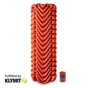 Klymit-Insulated-Static-V-Lightweight-Sleeping-Camping-Pad-Certified-Refurbish
