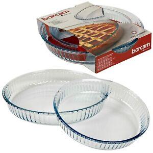 Conjunto-de-2-platos-de-coccion-del-horno-para-Asar-Hornear-Bandeja-de-Plato-De-Cristal-Cazuela