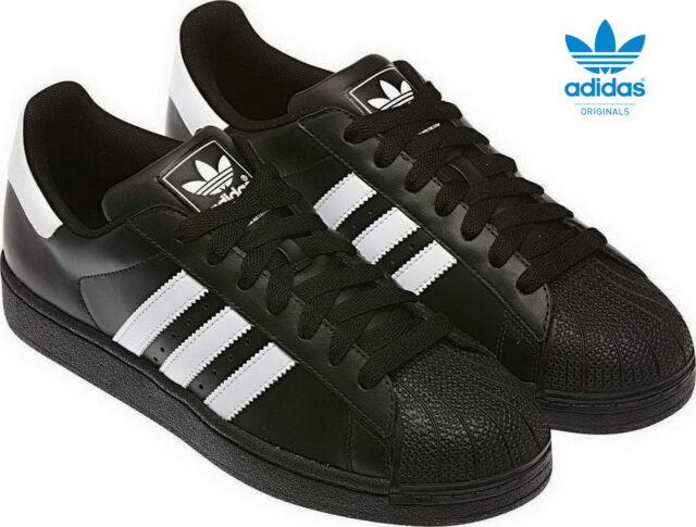 adidas Superstar 2 Originals Sneaker Herren Turnschuhe G17067 schwarz