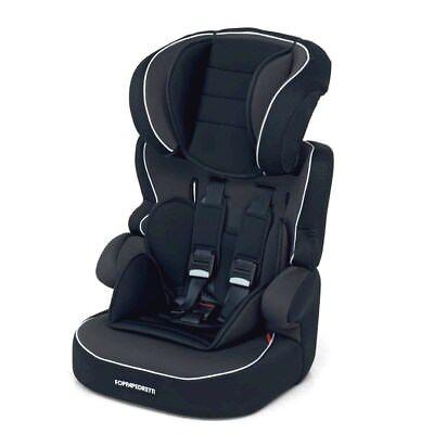 Special Section Seggiolone Auto Nero Babyroad Foppapedretti 9/36 Kg Cinture Di Sicurezza 5 Punti High Quality