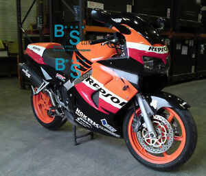 Details about Decals ABS Fairing VFR800 Kit Fit HONDA VFR 800 1999 2000  1998-2001 28 A1