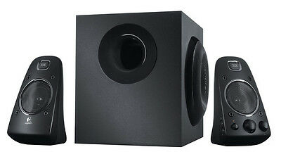 Logitech Z623 THX-Certified 2.1 Speaker System with Subwoofer (980-000402-MRF)