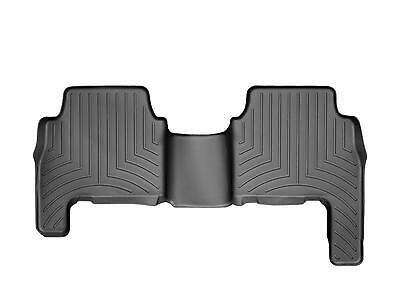 WeatherTech FloorLiner for Kia Sorento - 2011-2013 - 2nd Row - Black