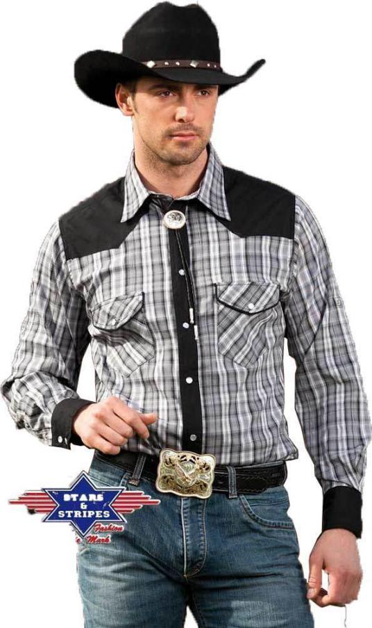Westernhemd Hemd Brian mit Krempelärmeln Linedance  | Um Eine Hohe Bewunderung Gewinnen Und Ist Weit Verbreitet Trusted In-und