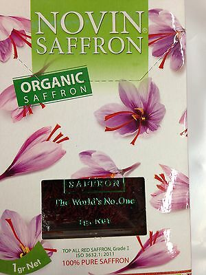 100% Organicsaffron Filament Mit Zertifikat Verkaufsrabatt 50-70% Bäckereiausstattung Feinschmecker Stetig 4x1g Bio Safran Fäden 4gr