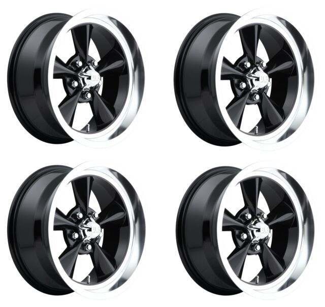 US Mags U117 Rambler 20x8 5x4.75 1mm Black//Milled Wheel Rim 20 Inch