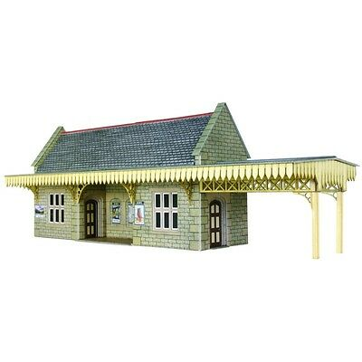 PO410 Metcalfe OO Gauge Model Railway Wooden Pavilion Pre-Cut Card Kit Brand New