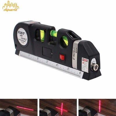 1PC Multipurpose  Laser Level Vertical Horizon Measuring Tape 8FT Aligner Ruler