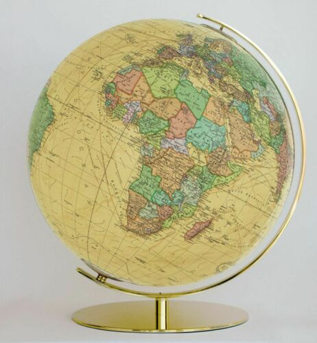 Columbus 223471 Royal Leuchtglobus Durchmesser 34 cm Globus Antik Weltkugel E...
