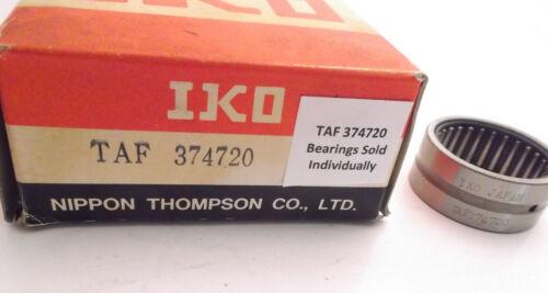 IKO TAF 374720 Needle Roller Bearing Prepaid Shipping TAF37420