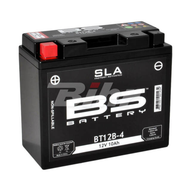 36078: BS BATTERY Batería BS Battery SLA BT12B-4 (FA)
