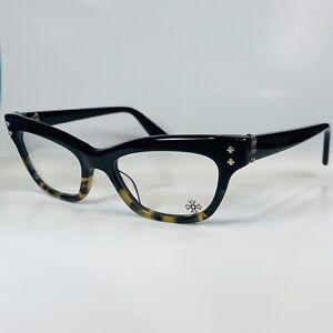 "NEW Chrome Hearts ""Va Jay Jay"" Eyeglasses 49-19, Black Over Tortoise. Ultra Rare"