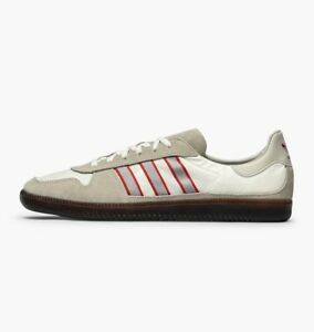 941651ee6c5b Image is loading Adidas-Originals-Hulton-Spzl-Spezial-Brown-Granite-Scarlet-