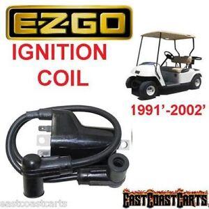 Details about EZGO Marathon/Medalist/TXT 1991'-2002' Golf Cart DUAL  IGNITION COIL 26652-G01