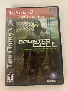 Splinter Cell Play Station 2 Game Used Free Shipping In USA