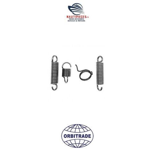 22056 Kit 4 Federn Edelstahl Orbitrade Sockel Volvo Penta 270 275 280 290 Sdp Dp